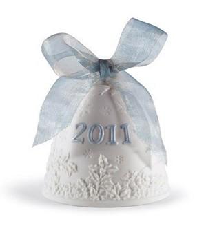 Lladro-Christmas Bell 2011