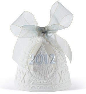 Lladro-Christmas Bell 2012 Ornament
