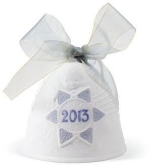 Lladro-Christmas Bell 2013