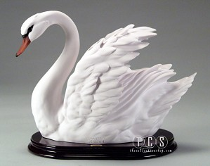 Giuseppe Armani-Swan - Semi-Open Wings