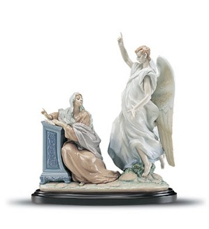 Lladro-The Annunciation Le1000 1999-2001