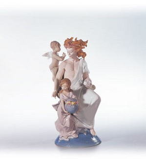 Retired Lladro-Father Sun (500)