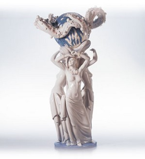 Lladro-Mother Earth Le500 2000-03