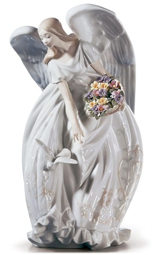 Lladro-FLOWERS OF PEACE