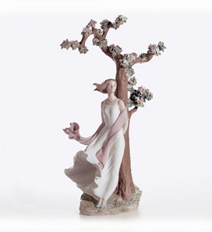 Retired Lladro-Sighs Of Love (1500)