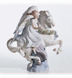 Retired Lladro-A Message Of Joy (3000)