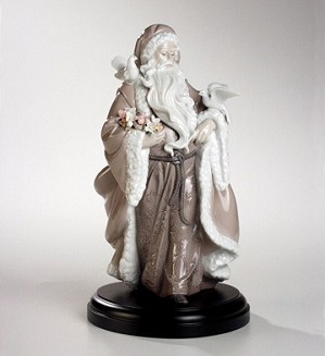 Lladro-Father Christmas Spirit Of Nature
