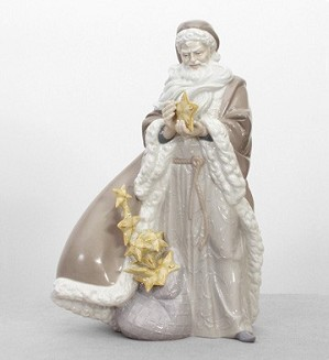 Lladro-Father Christmas 2005-08