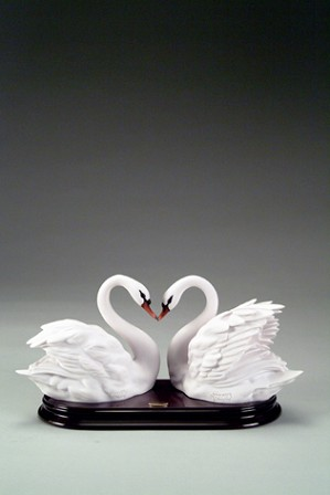 Giuseppe Armani-Two Swans