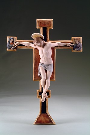 Giuseppe Armani-Crucifix After Giotto