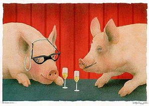 Will Bullas-The House Swine Limited Edition Print