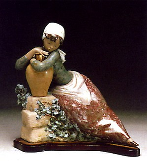 Lladro-Water Carrier 1977-85