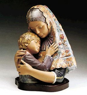 Lladro-Mother In Typical Dress  1983-97