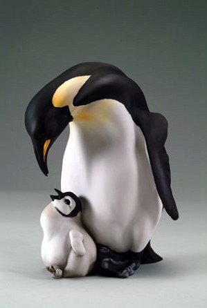 Giuseppe Armani-Penguin And Baby