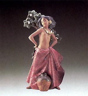 Lladro-Island Girl 1987-1990