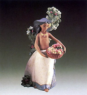 Lladro-Island Beauty 1987-90