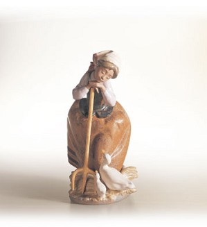 Lladro-Harvest Helpers