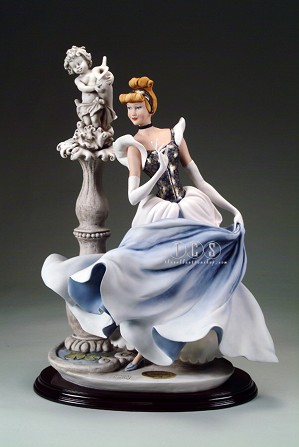 Giuseppe Armani-Cinderella At The Fountain - Ltd. Ed. 500