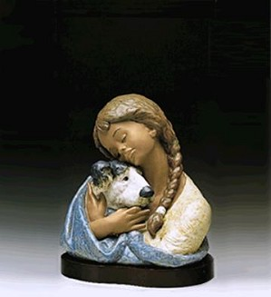 Lladro-Devoted Friends 1990-95