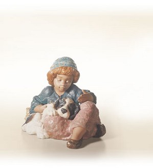 Lladro-What A Day!