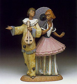Lladro-Costumed Couple 1991-93