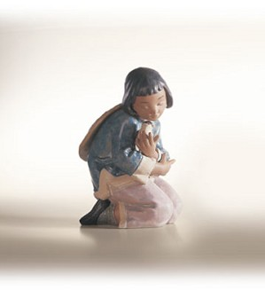 Retired Lladro-Friendly Sparrow