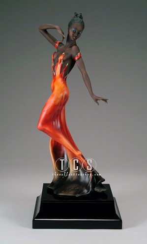 Giuseppe Armani-The Fire - Ltd. Ed. 1500