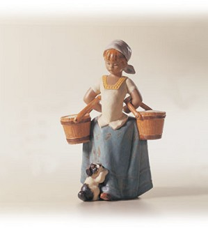 Retired Lladro-Step Aside
