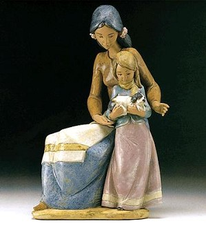 Lladro-Family Love 1994-2000