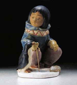 Lladro-Little Fisherman 1994-99
