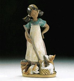 Lladro-Playful Kittens 1994-99