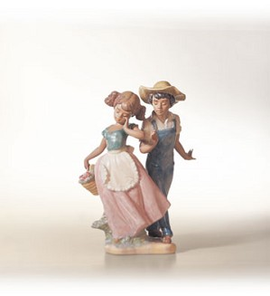Lladro-Love In Bloom 1995-02