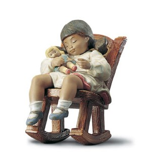 Retired Lladro-Naptime