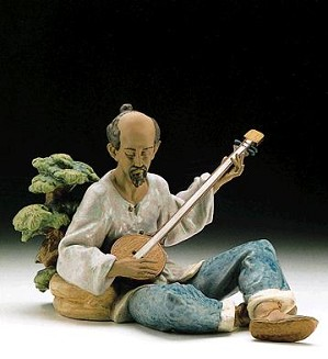 Lladro-Asian Melody 1996-99