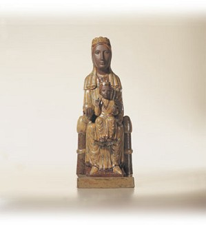Lladro-Virgin Of Montserat 1996-03