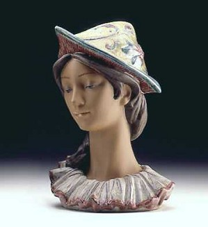 Retired Lladro-Colombina