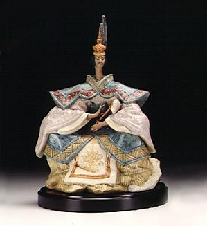 Lladro-Emperor (coloured) 1998-2000