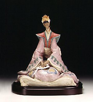 Lladro-Empress (coloured) 1998-2000