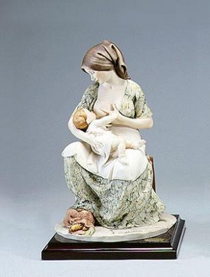 Giuseppe Armani-Mother Breast Feeding