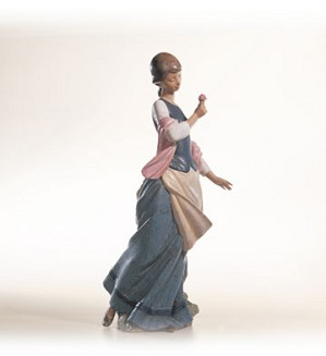 Retired Lladro-A Girl In Love
