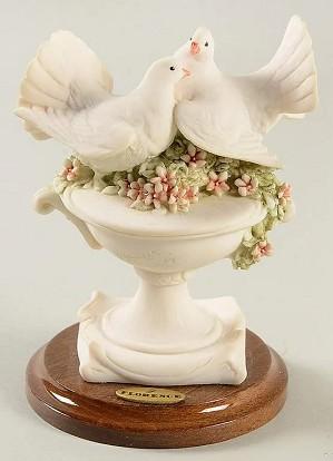 Giuseppe Armani-Little Doves On Flowers