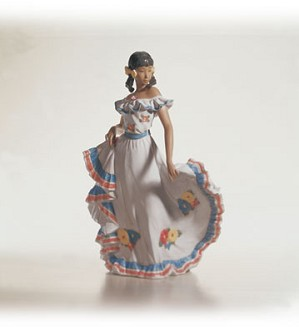 Retired Lladro-Dance Of Joy