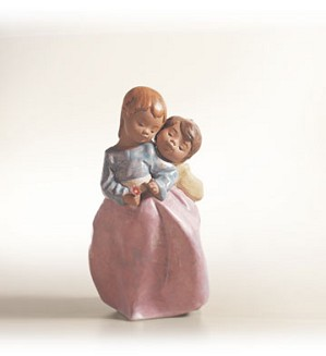 Retired Lladro-A Simple Gift