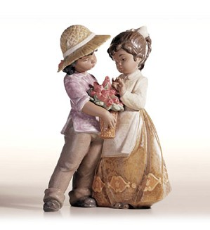 Retired Lladro-A Child's Present