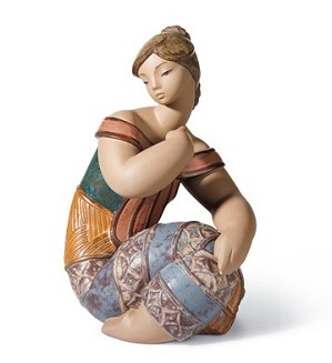 Lladro-Young Indian II