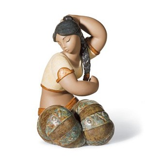 Lladro-Young Indian IIi