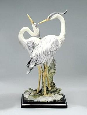 Giuseppe Armani-Pair Of Herons