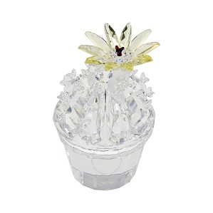 Swarovski Crystal-Flowering Cactus