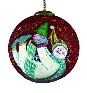Susan Winget-Floating snowman
