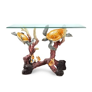 SPI Sculptures-Turtle Console Table